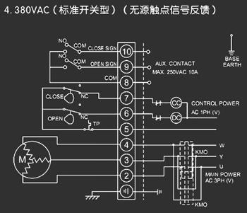电动阀门接线原理 首先要看电动阀是什么类型的