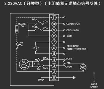 电动阀门接线原理 首先要看电动阀是什么类型的图片